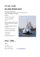 BEL 8426 BROWN BEER english version