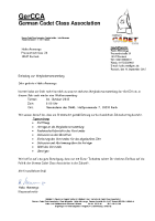 GerCCA – Einladung zur Mitgliederversammlung 2015