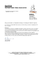 GerCCA – Einladung zur Mitgliederversammlung 2019 – Antrag