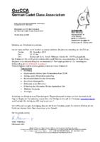 GerCCA – Einladung zur Mitgliederversammlung 2019 – 2